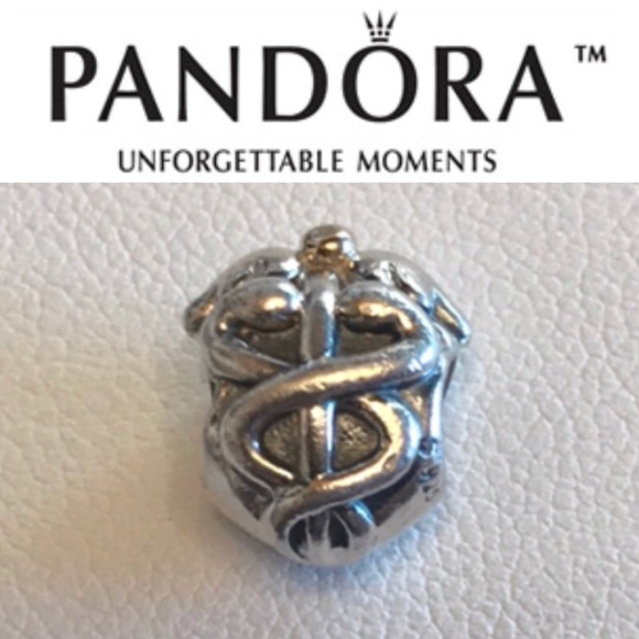 09c06636e Pandora Jewelry   791042 Retired Life Saver Charm   Poshmark